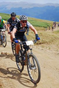 My prescription Adidas Adivista cycling sunglasses in use at Leadville 100