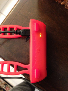 Thunderbolt USB bicycle rear light charging review