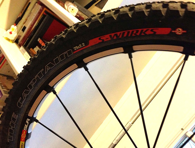 Specialized The Captain 2.2 29er tire review